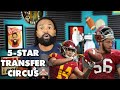 How Antonio Alfano Bru McCoy And 5 Star Recruits In NCAA Transfer Portal Mean This