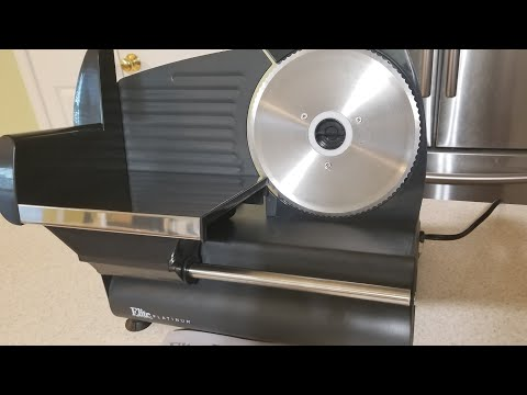 Unboxing Elite Platinum Electric Food Slicer EMT-503B