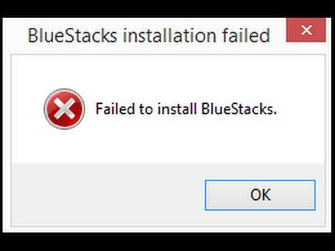 Failed to install Bluestacks error fix 2016 !!!
