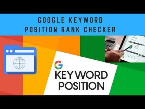 Google Keyword Position Checker | Free Keyword Rank Checker | How to Find Keyword Ranking Position