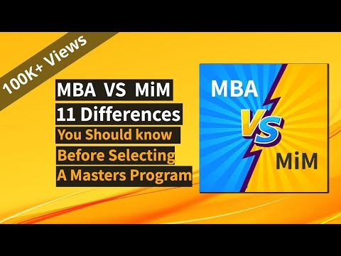 MBA vs Masters in Management: 11 Differences that matter