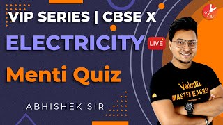 Electricity L6 | Doubt and Menti Quiz | Class 10 Physics | Science Chapter 12 NCERT | Vedantu