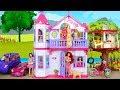 Steffi Love My Dream House for Barbie Size Dolls Neues Puppenhaus Maison de poupée بيت الدمية