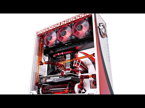 Project JAM Gaming - $3200 CUSTOM WATER COOLED PC BUILD TIME LAPSE