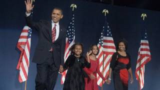 President-Elect Barack Obama on Election Night