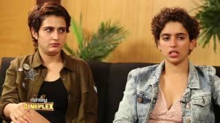 Rapid fire with Dangal girls Fatima Sana Shaikh and Sanya Malhotra | Atika Farooqui | Interview