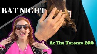 BAT NIGHT at the Toronto Zoo (Up close, bat walk & other zoo animals)