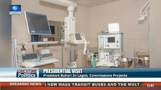 Download Presidential Visit: Buhari In Lagos, To Commissions Projects |Lunchtime Politics| Video