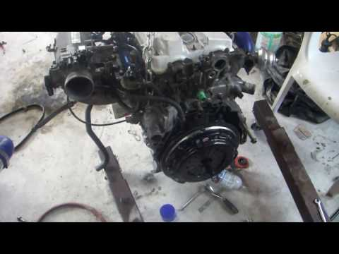 1992 Accord Turbo H22a Project Series - H23 Transmission Install DIY