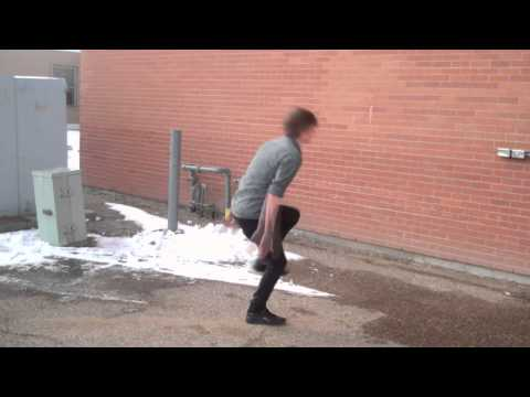 How to Do a Backflip Off a Wall Easy