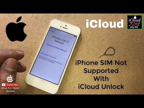 iPhone Sim Not Supported With iCloud Activation Unlock Trick & Tips✔️
