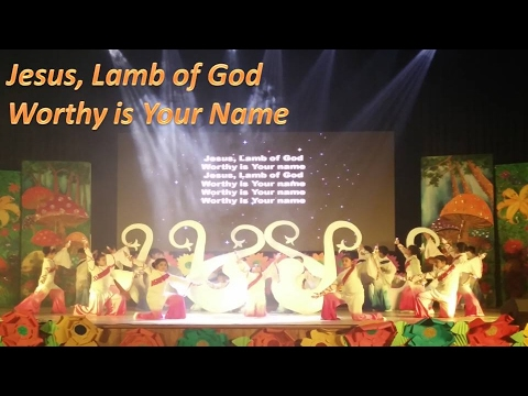 Jesus Lamb of God Worthy is Your Name | Dance on Jesus Songs by Ryan International School Student