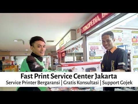 Fast Print Service Center Jakarta - Service Printer Bergaransi | Gratis Konsultasi | Support Gojek