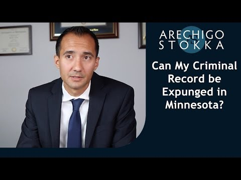 Can I get my old Minnesota criminal record expunged?
