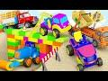 Trucks Construction For Kids Excavator Dump Truck Mixer Truck Toy Unboxing Jugnu Kids