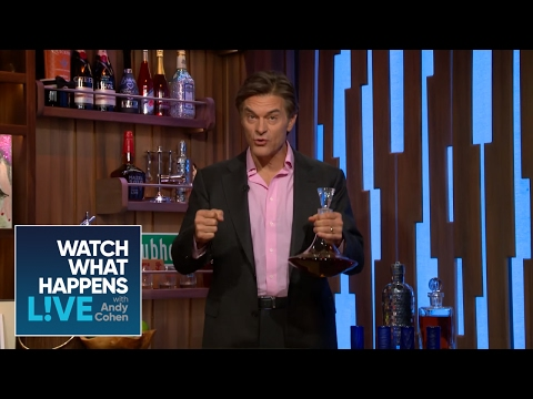 Dr. Oz Shares How To Avoid A Hangover   Warm Ups   WWHL