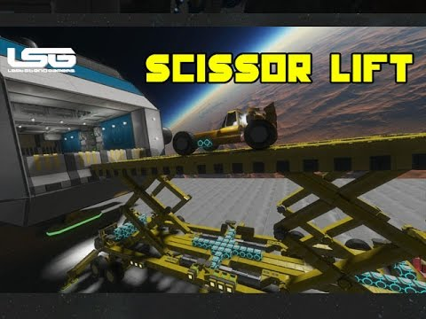 Space Engineers - Heavy Duty Scissor Lift