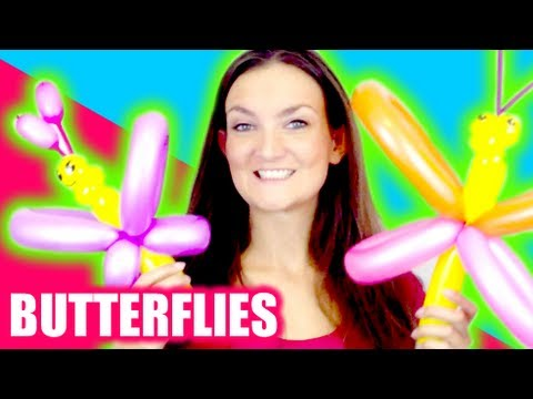 Butterfly Balloon How To - Tutorial Tuesday!
