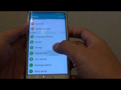 Samsung Galaxy S6 Edge: How to Find the IP Address