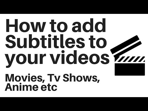 How to add subtitles to a video permanently
