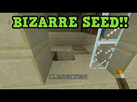 Minecraft PS3 / Xbox 360 Seed - Stronghold & Temple AT SPAWN