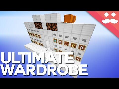Minecraft: The Ultimate Walk in Wardrobe! [Dressing Room]