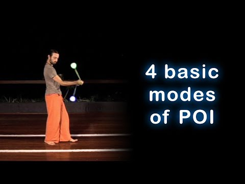 Beginner Poi Spinning Lesson: 4 Basic Modes