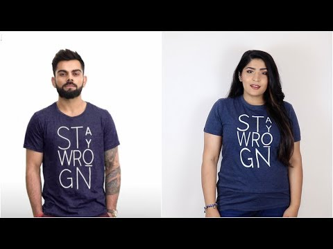I Bought 5 Outfits That Virat Kohli Wore | Wait What?! | Shreya Jain