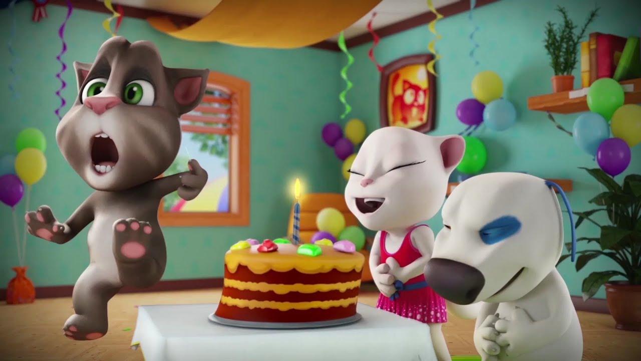 🎂 Super Birthday Cake! 🎂 Talking Tom Shorts Cartoon (Episode 44)