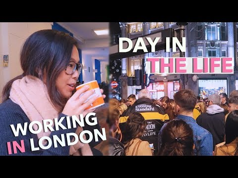 Day In The Life: Living & Working Full Time in Central London | London Vlog #7