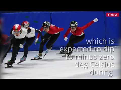 National short track speed skater Cheyenne Goh