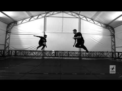 Slackline Duo - Jaan & Neto