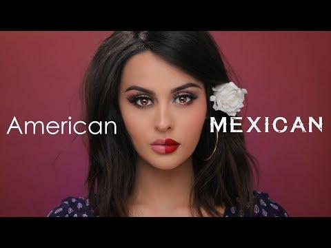 American VS Mexican Makeup Tutorial