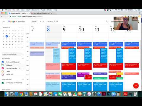 How to create a calendar agenda that is emailed to your inbox each morning