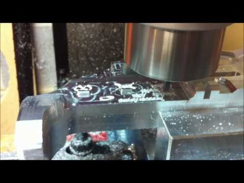CNC Milling an AR-15 Receiver From Scratch Chapter 5: Drivers side