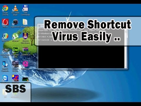 How to remove shortcut virus in pendrive and from computer permanently - (2 Effective Methods)