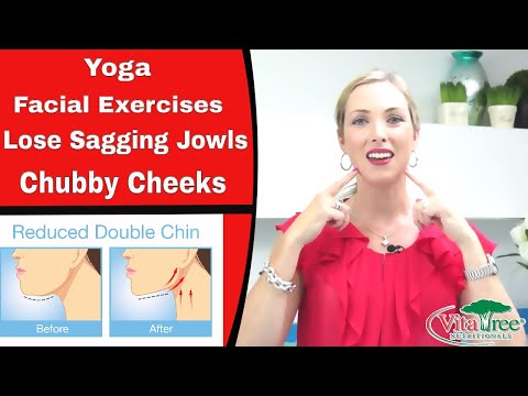 Yoga Facial Exercises : How to Lose Sagging Jowls : Chubby Cheeks - VitaLife Show Episode 162