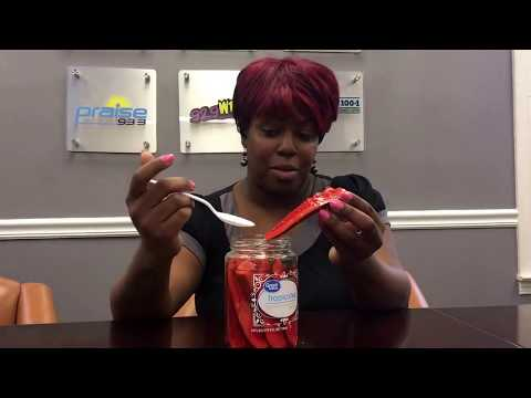 Watch Jade try fruit punch pickles
