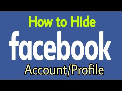 How to Hide Facebook Profile from Public || Tech Suggestion
