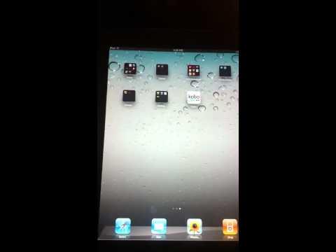 Kobo on iPad