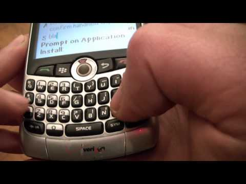 How To Hard Reset A Blackberry 8330 Smart Phone