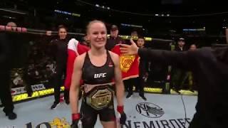 UFC 238: Valentina Shevchenko Octagon Interview