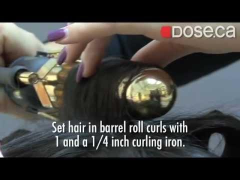 Red Carpet Hollywood Curls - Oscar hair styles