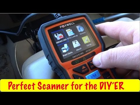 Foxwell NT301 Scanner Review