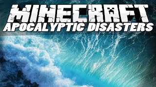 Minecraft Mods | APOCALYPTIC DISASTERS MOD! (Tsunamis, Blackholes & Sinkholes) | Mod Showcase