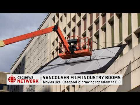 CBC News Network: Motion picture spending in B.C. hits all-time high