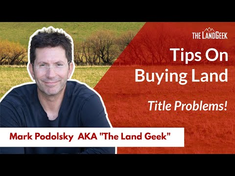 Tip#2 in Buying a Property or Rural Land