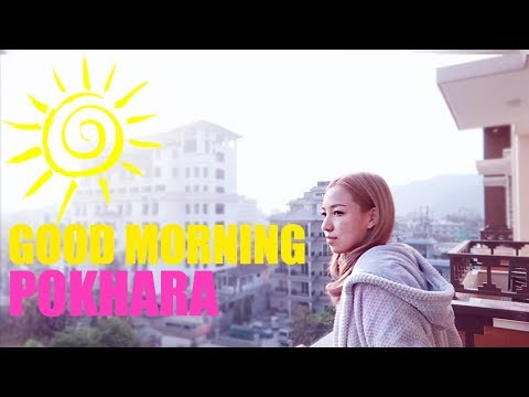 Wakeup with me in POKHARA   NEPAL VLOG