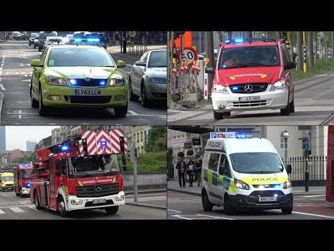 Emergency Services responding - BEST OF MAY 2018 - UK, Netherlands + Belgium!