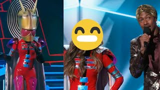 The Masked Singer  - The Alien Performances and Reveal 👽